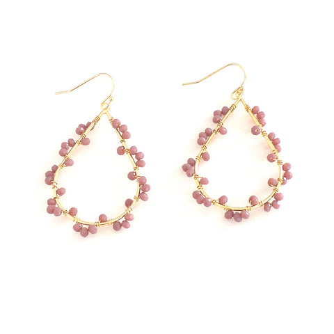 Ashton Blush Earrings