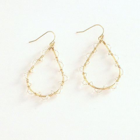 Ashton Clear Earrings - Estilo Concept Store
