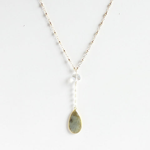 Lady Like Labrodite Necklace