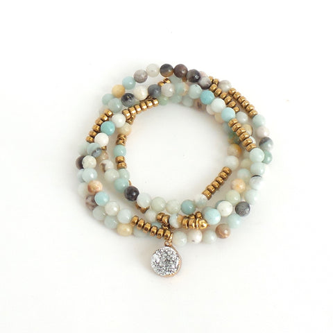 Lila Babe Agate Chill Out Bracelet