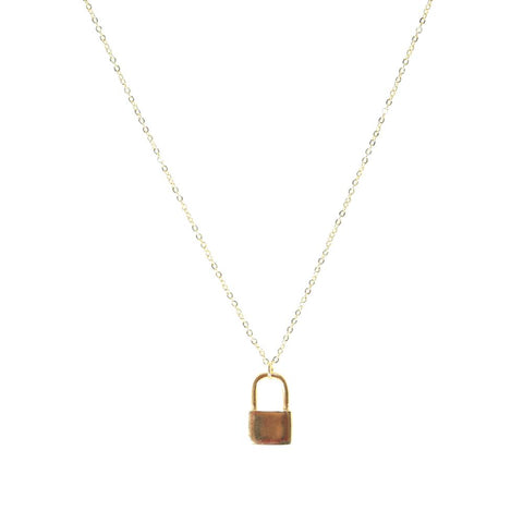 Lock It Up Necklace - Estilo Concept Store