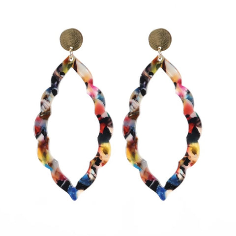 Lola Multi-Color Earrings