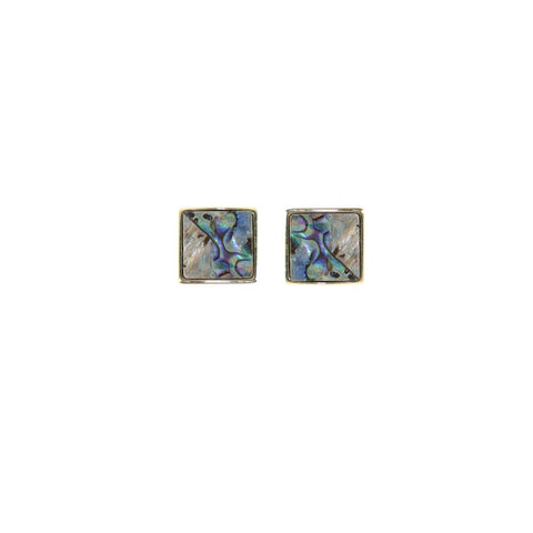 Tell Me About It Abalone Earrings