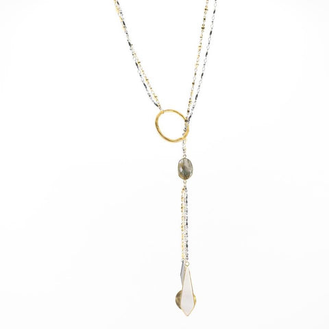 That's Killer Lariat Necklace