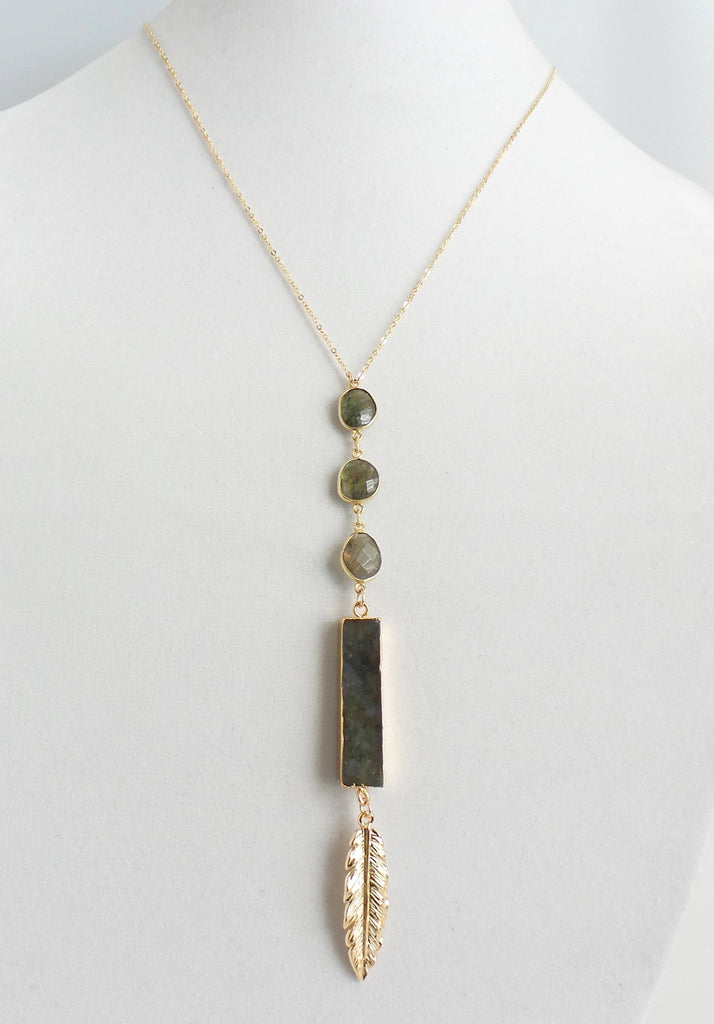 Tops Drop Linear Necklace