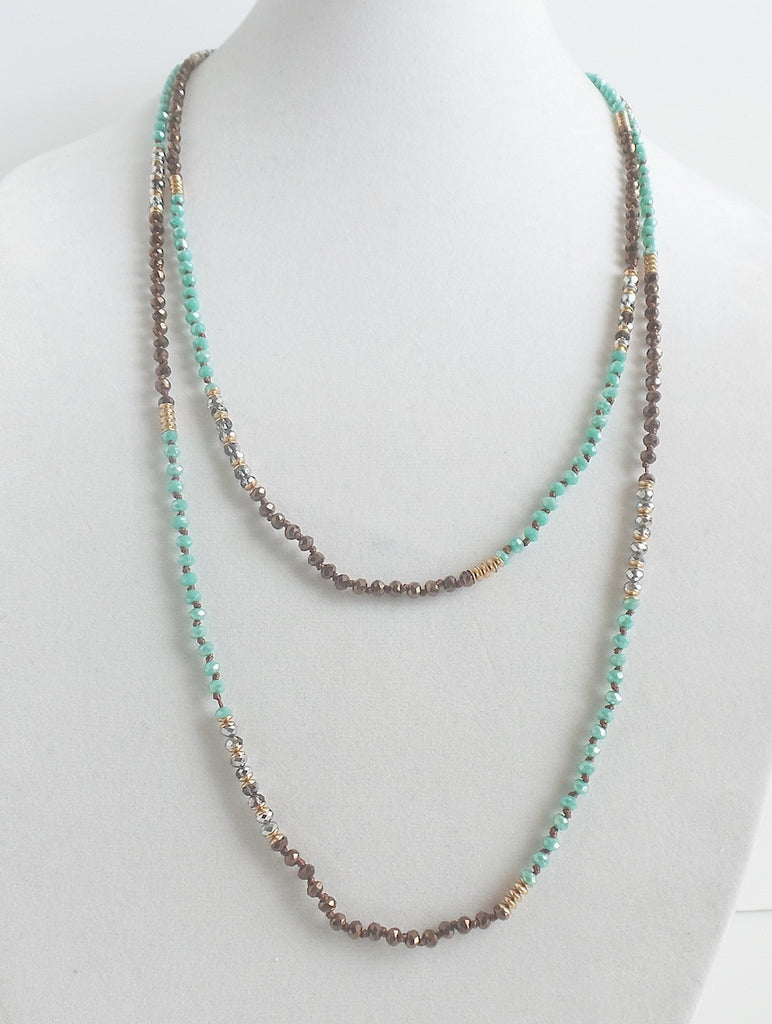 Twice As Nice Necklace *click for more colors