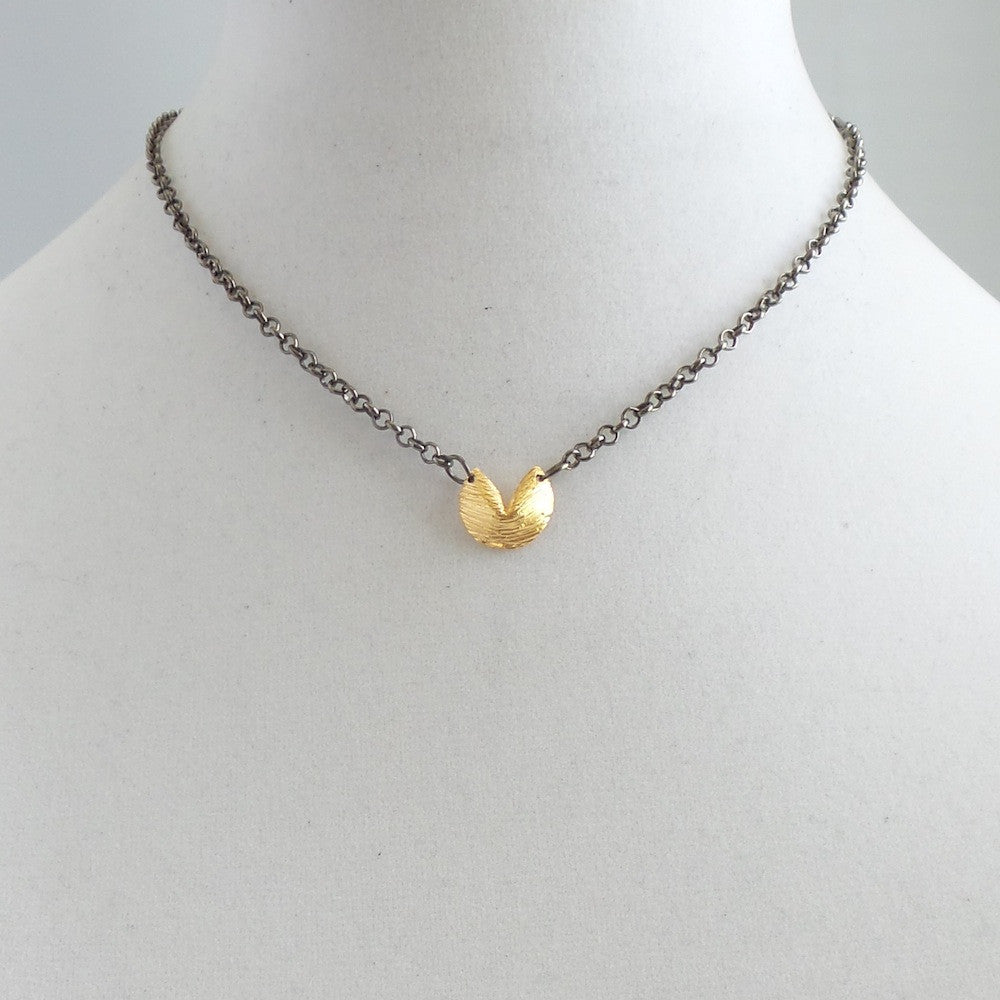 Fortune Cookie II Pendant Necklace