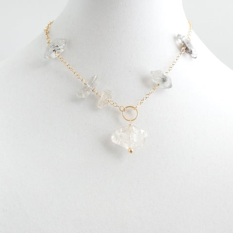 Quartz Short Necklace