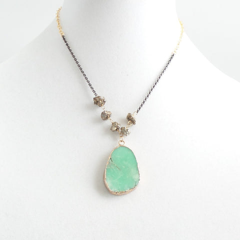 Short Chryso Necklace