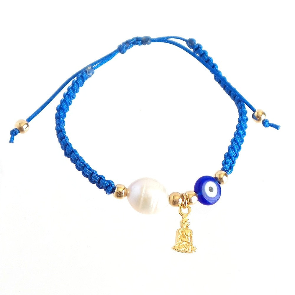 Evil Eye Buda Blue Bracelet *click for more charms - Estilo Concept Store