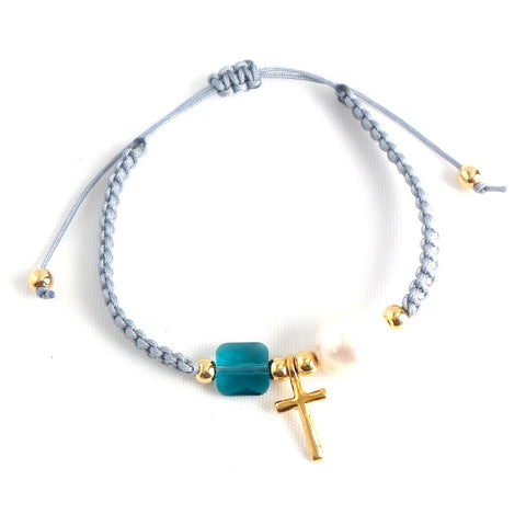 Cross Charm Bracelet *click for options