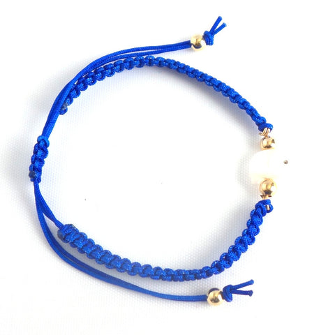 Elephant Blue Charm Bracelet *click for more bead color