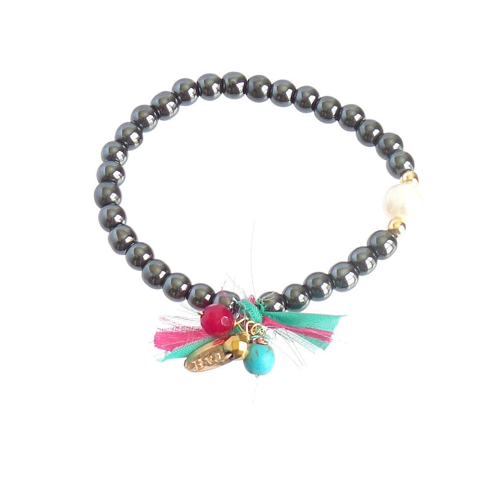 Hematite Silk Bracelet *click for more colors - Estilo Concept Store