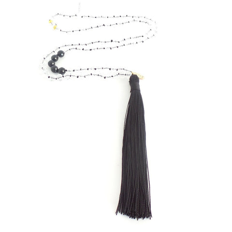 Long Tassel Necklace *click for more colors