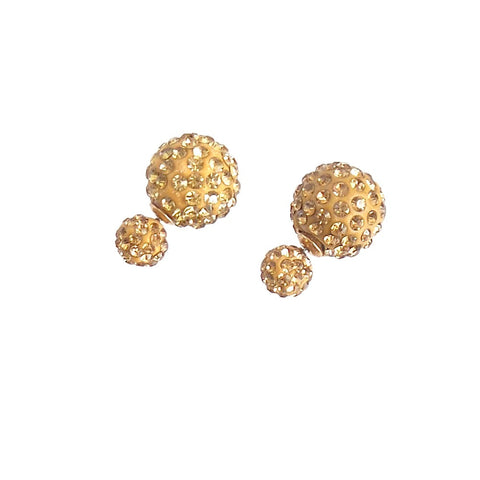 360 Pave Crystal Earrings *click for more colors