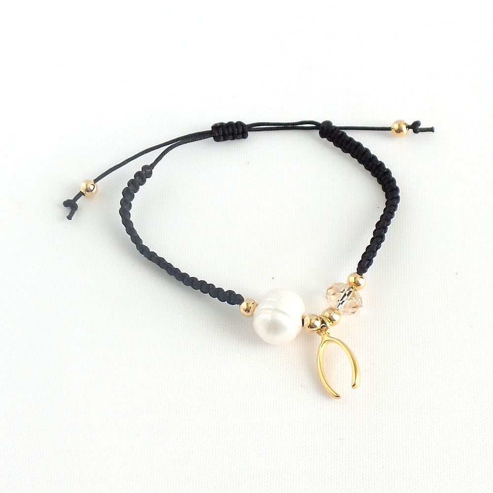 Wishbone Charm Bracelet *click for more colors - Estilo Concept Store