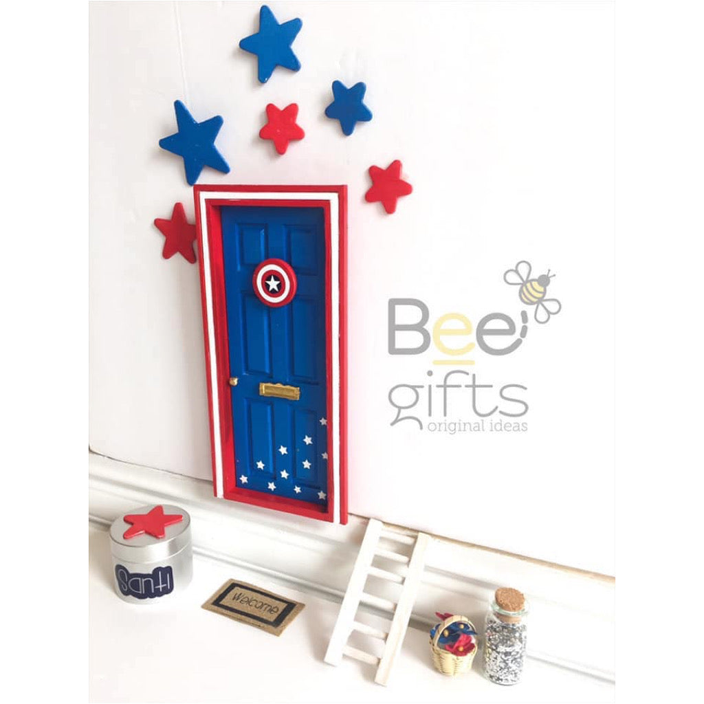 Captain America Tooth Fairy Mini Door - Estilo Concept Store