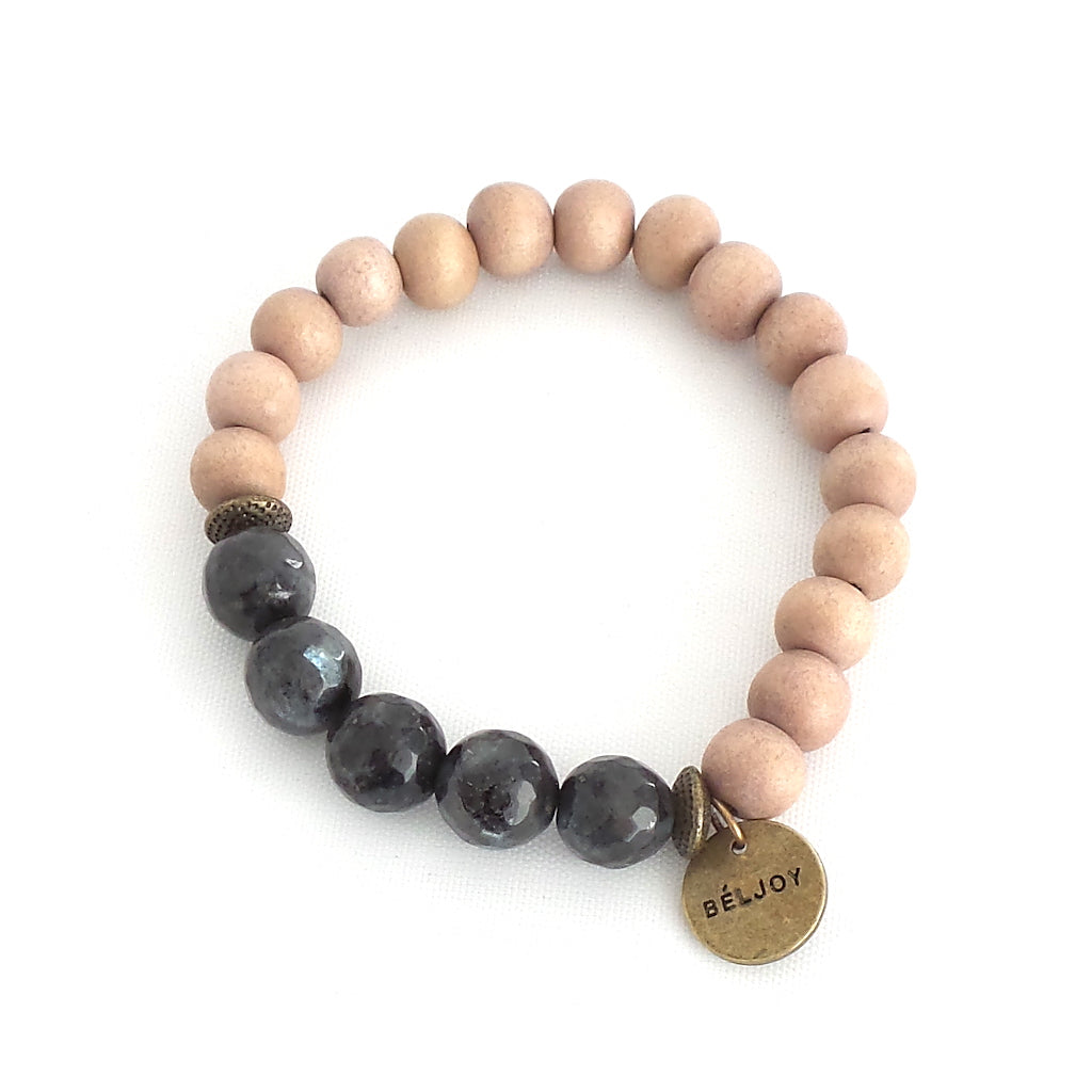 Backlin Blush Grey Bracelet - Estilo Concept Store