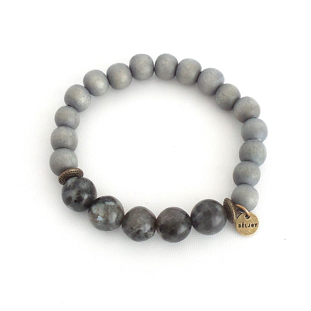 Backlin Dark Grey Bracelet - Estilo Concept Store