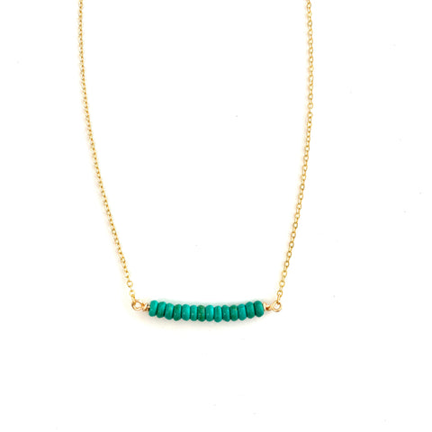 Finley Green Necklace