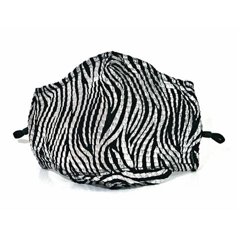 Striped Zebra Face Mask - Estilo Concept Store