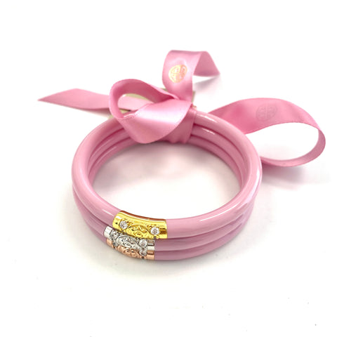 All Weather Three Kings PINK Bangles by Budha Girl