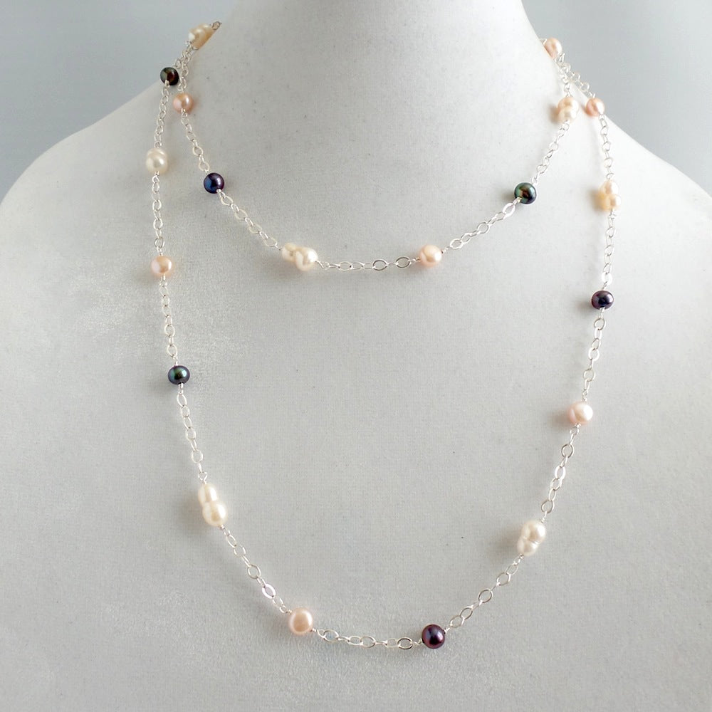 Oceana Pearl Necklace *click for more colors