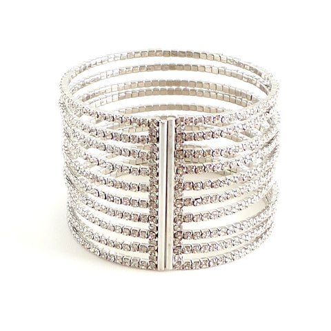 Ten Strand Silver Whirl Bracelet by Budha Girl