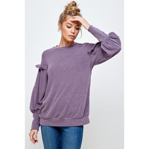 Cindy Lavender Top