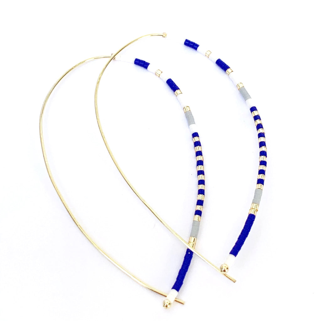 Rory Cobalt Hook Earrings - Estilo Concept Store