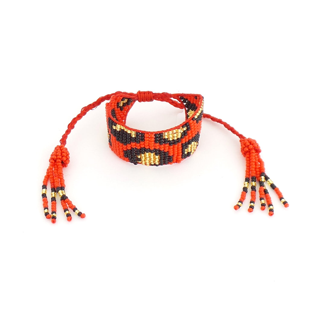 Animal Print Red Bracelet - Estilo Concept Store