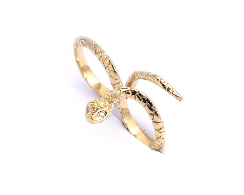 Snake Double Ring