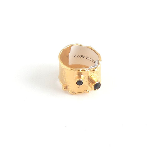 Onyx Craters Ring - Estilo Concept Store