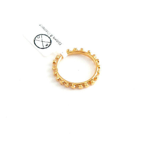 Flat Spheres Layering Ring