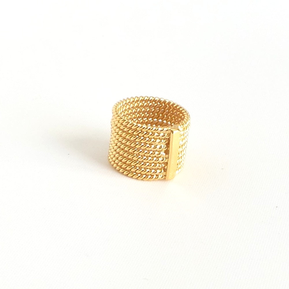 Multi Twined Ring