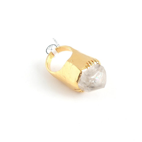 Rough Quartz Ring - Estilo Concept Store