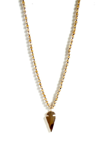 Arrowhead Long Pendant Necklace - Estilo Concept Store
