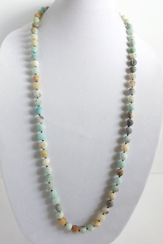 Frosted Amazonite Necklace