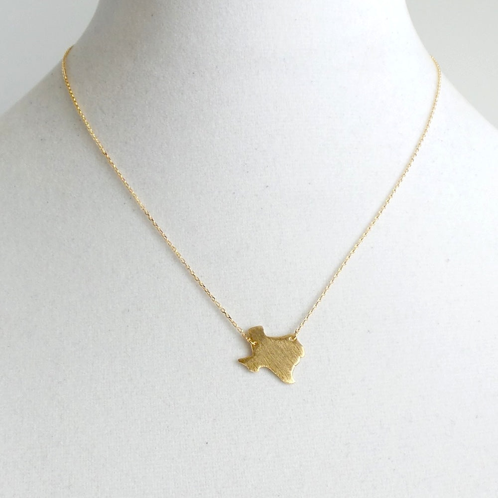 Texas Pendant Necklace *click for more colors - Estilo Concept Store