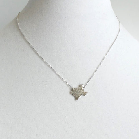 Texas Harvey Relief Pendant Necklace *click for more colors