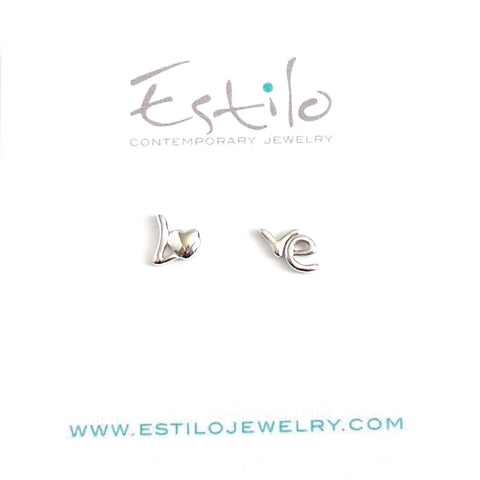 LO-VE Stud Earrings