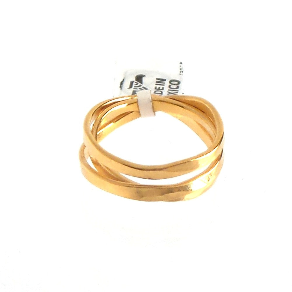 Flat Strands Ring