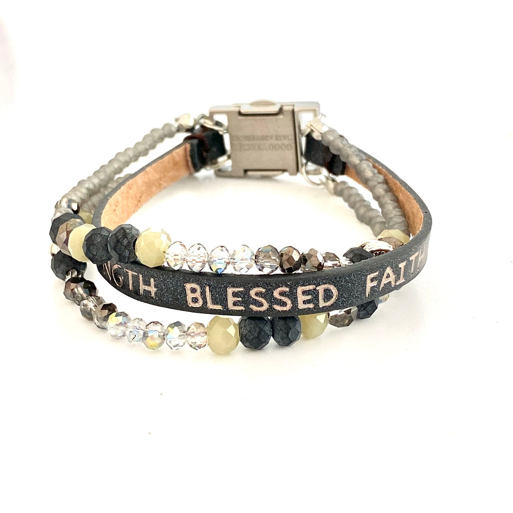 Humanity Bracelet Peaceful Black