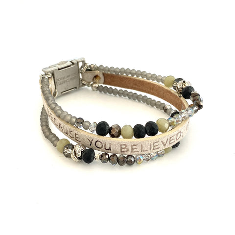 Good Works Humanity Bracelet Stardust Silver