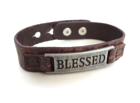 Blessed Men's Sacred Single Vintage Bracelet