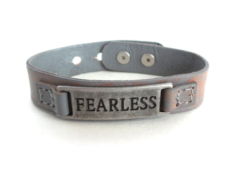 Fearless Men's Sacred Single Vintage Bracelet