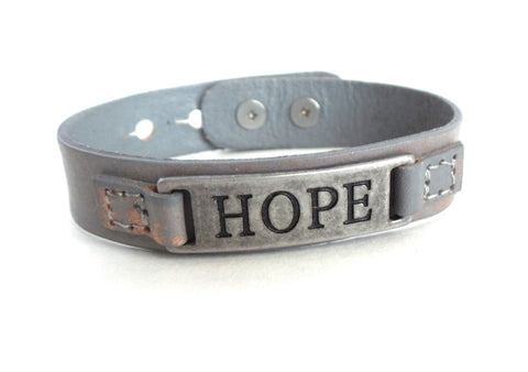 Hope Men's Sacred Single Vintage Bracelet