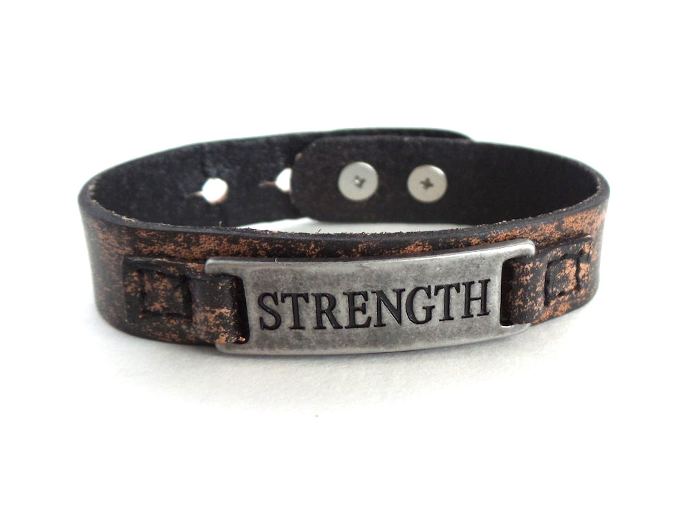 Strength Men's Sacred Single Vintage Bracelet - Estilo Concept Store