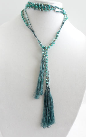 Woven Wrap Necklace