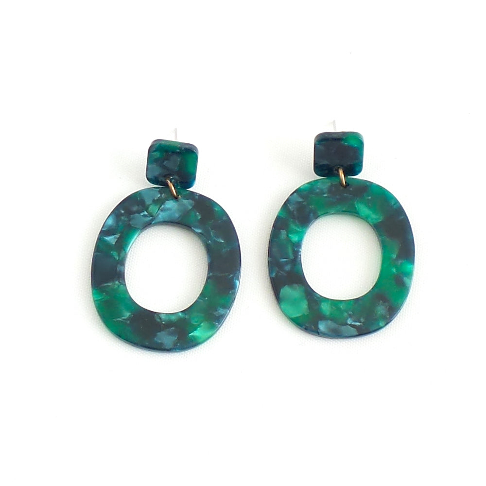 Acrylic Rilla Statement Earrings - Estilo Concept Store